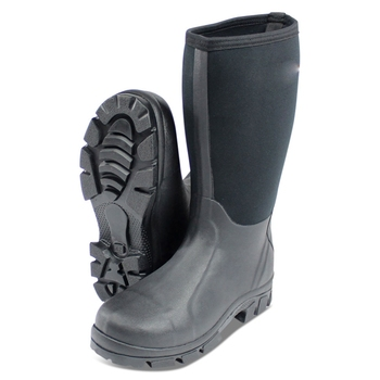 Mens Customized Farmer Field Waterproof Neoprene Wellington Muck Boots