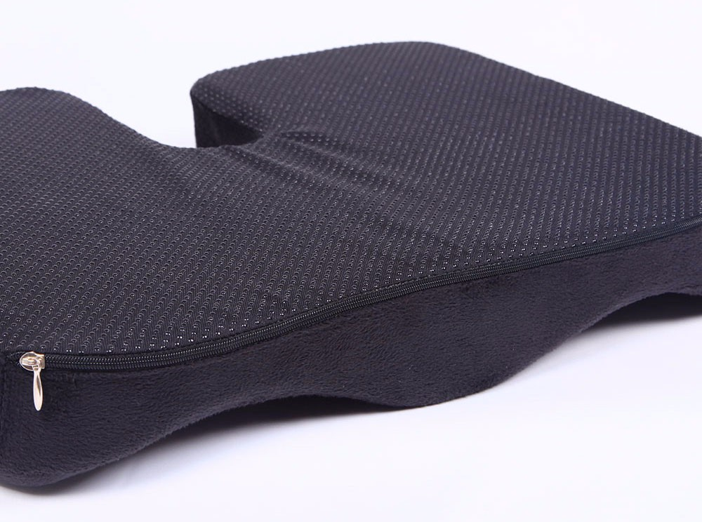 High Quality Coccyx Seat Cushion, Cool Gel Memory Foam Large Orthopedic Tailbone Pillow for Sciatic