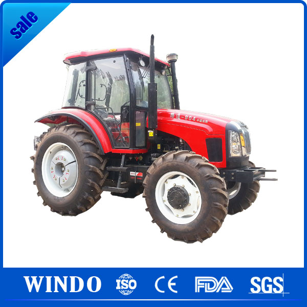 80 hp 4*4 mini agricultural tractor machinery for sale