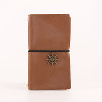 2017 Popular Genuine Leather Journal Diary