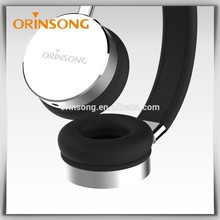 Custom Logo bluetooth stereo headphones with microphone for lovers gift