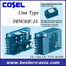 Cosel PBW30F-15 30W 15V Dual output Power Supply
