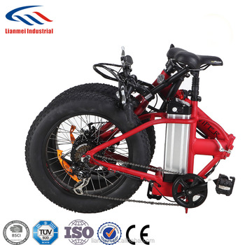 250w fold bike for sand and snow