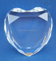 Personalized heart crystal diamond MH-00120L