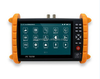 Highest resolution 1280*800 7 inch POE camera IP /AHD/TVI camera tester