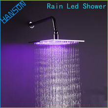 Factory direct supply plastic cheap overhead shower head led
