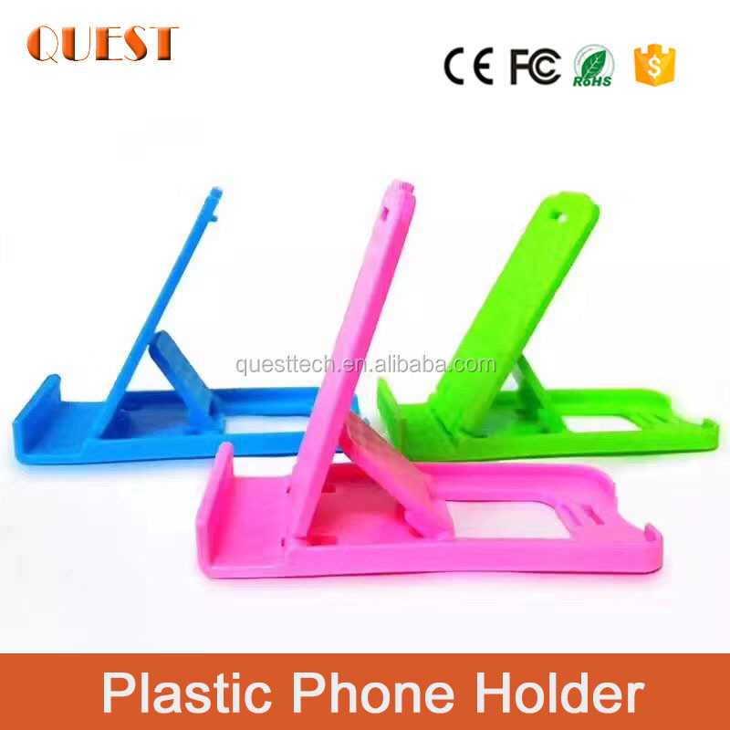universal china cellphone accessories / gifts 2017 plastic mobile phone stand/desktop cell phone holder
