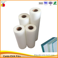 External use ultra clear UV resistance laminated glass EVA film