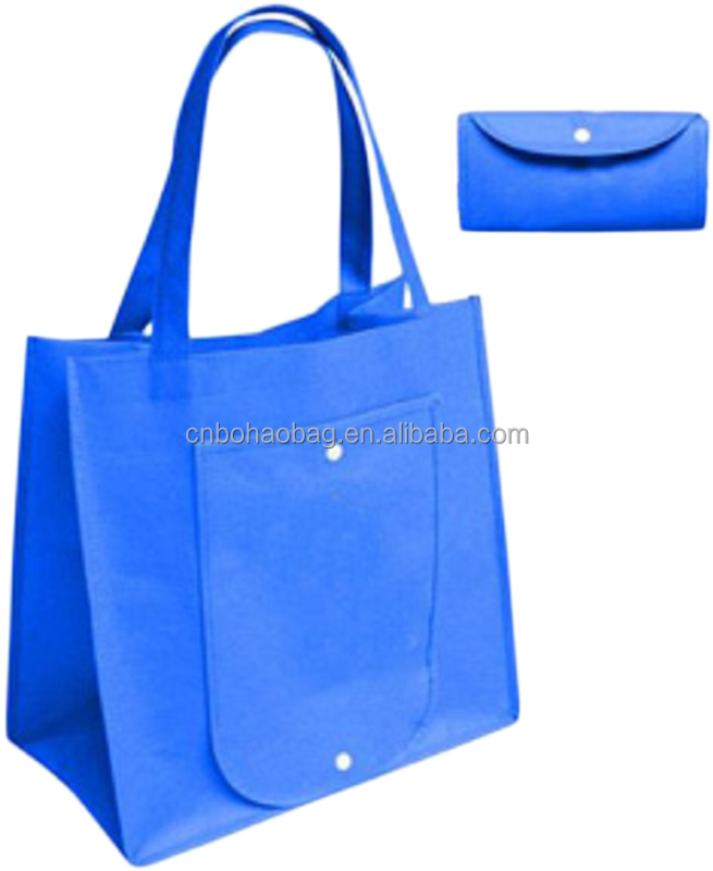 New eco friendly non woven folding shopping bag