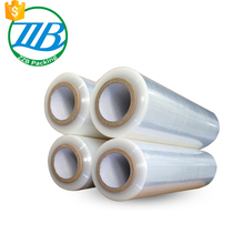 PE plastic clear transparent stretch film with different specifications