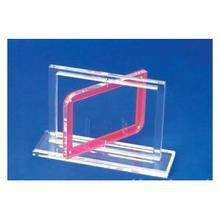 Fancy clear acrylic rovolving picture frame acrylic photo frame