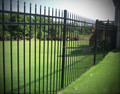 Easily Assembled Galvanized Steel Fence Panel/Wrought Iron Picket Fence