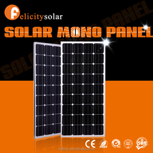 Felicitysolar high quality mono 150w the lowest price photovoltaic sunpower solar panel