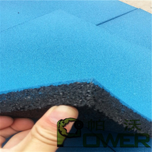 Good quality1000x1000mm outdoor rubber play mats