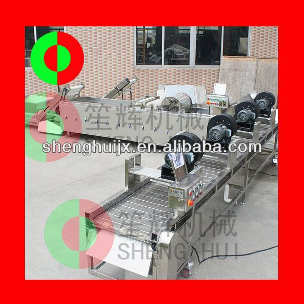 QX-42 Vegetables chopping,cleaning,jerk drying machine
