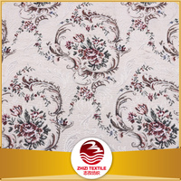 china manufacturer jacquard blackout curtain lining fabric