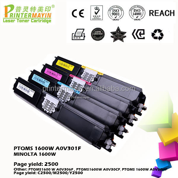 Color Compatible Toner Cartridge FOR KONICA MINOLTA 1600W (PTQMS 1600W A0V301F)