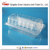 Disposable Clear Clam Shell Bread Plastic Packaging Box
