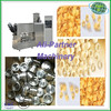 Inflating pellet single screw puffed snack food extruder mak corn circle food