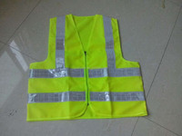EN20471 Standard Reflective vest/safety jacket with reflective stripes in different colours