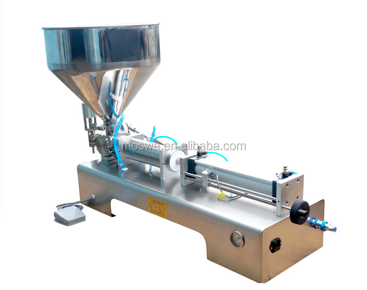 semi auto lotion/liquid soap/dishwash liquid filling machine