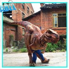 High Quality european children museum robotic dinosaur suit