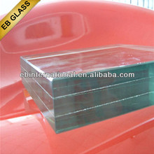 bulletproof glass for windows , clear tempered laminated safety glass ,eb glass