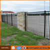 Shengwei fence - Hot galvanized Powder coated cheap vertical steel bar fence