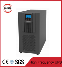 6KVA ups online high frequency with/without internal battery LCD display