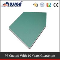 Alusign decorative plastic kitchen wall panel/ PE acm board wood texture aluminum composite panel