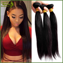 Natural Color straight wave Wholesale Virgin Human Hair, Wholesale Brazilian Hair hair extension