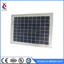 18 Cell Arrangement Solar Panel Kits , Poly Solar Cell 10w