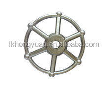 China ductile iron casting steel hand wheel