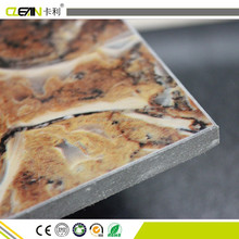 Fluorocarbon Paint Wood Grain Cement Board Price UV coating Fiber Cement board