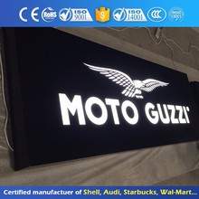 Open Led Sign Board Magnetic Acrylic Light Box Outdoor