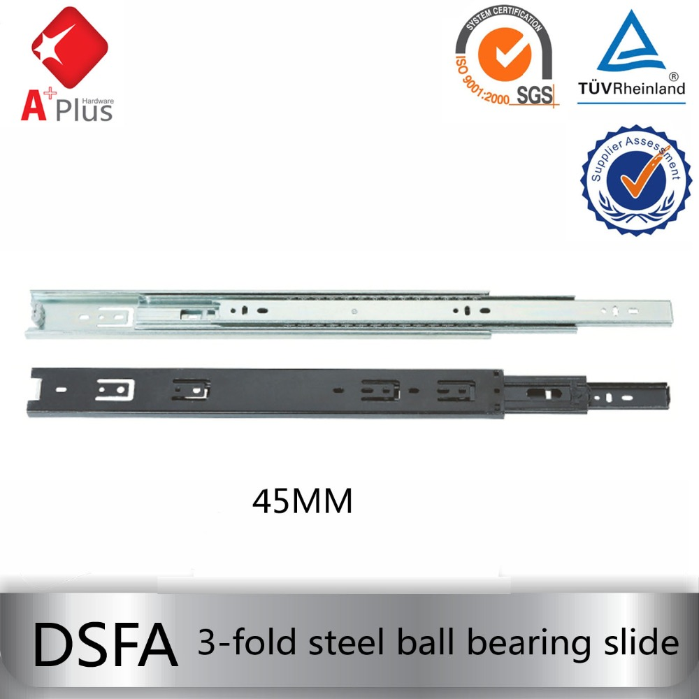 35MM king slide heavy duty stainless steel ball bearing drawer slides