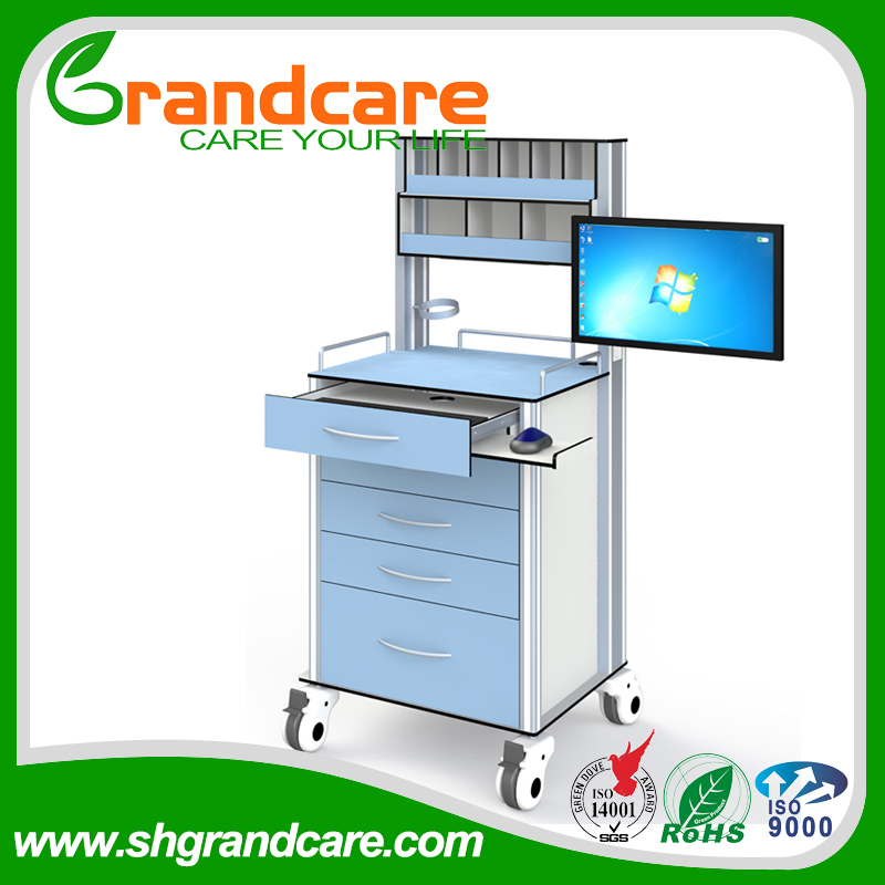 hospital medical trolley medical wholesaler with monitor G-TA003