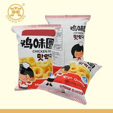 Food Grade Disposable Plastic Potato Chip Packaging,Popcorn Packaging Bag