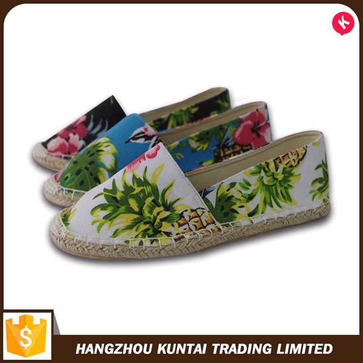 Newest design top quality espadrilles alpargatas casual shoes