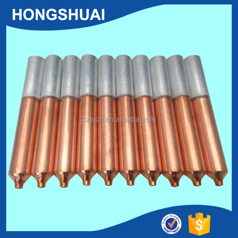 copper aluminium pipe for air conditioner / air conditioner spare parts