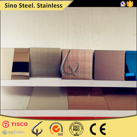 color hairline bronze finish stainless steel sheet