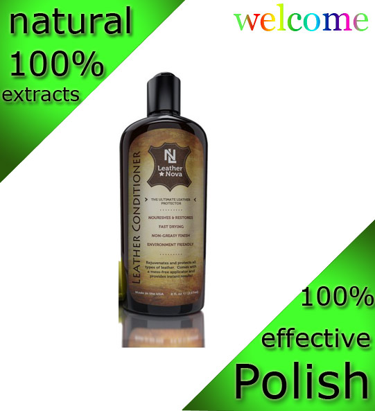All natural biological premiun eco-friendly car interior leather seat care
