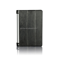 8 inch flip cover pu leather tablet case for lenovo Yoga