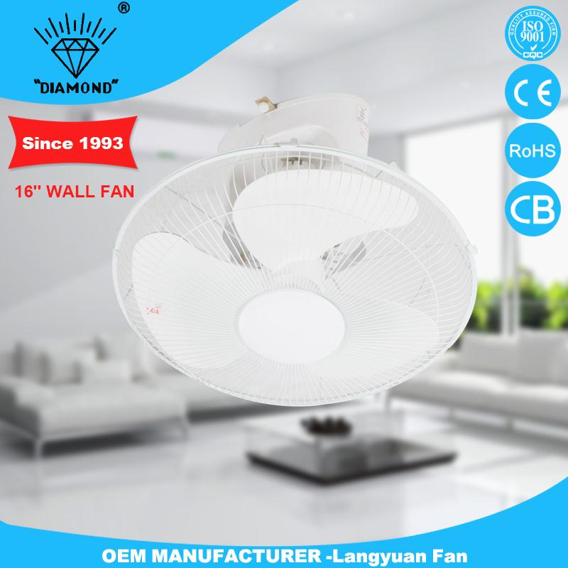 Professional adjustable decorative wall mount fans with CE certificate