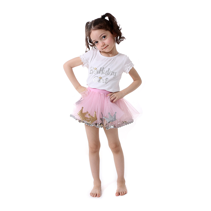 Matching Skirt and Top Clothing Sets 2pcs Girls Clothing Outfits