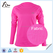 Neon Color Long Sleeve Sexy Sportswear Fitness Wear Womens Active Wear