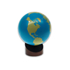 Preschool wooden educational globe toy montessori materials in china