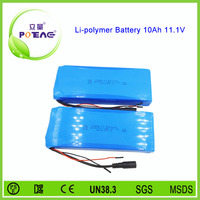 10ah 12V li-polymer long way rechargeable battery pack