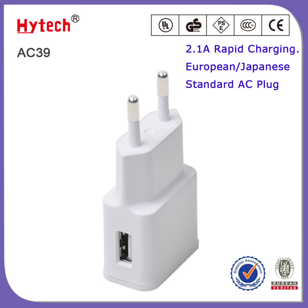 Rapid Charge Universal Travel 2.1 Amp USB Wall charger to AC Power Adapter Charger For Samsung Galaxy S4 N7100 /Note2