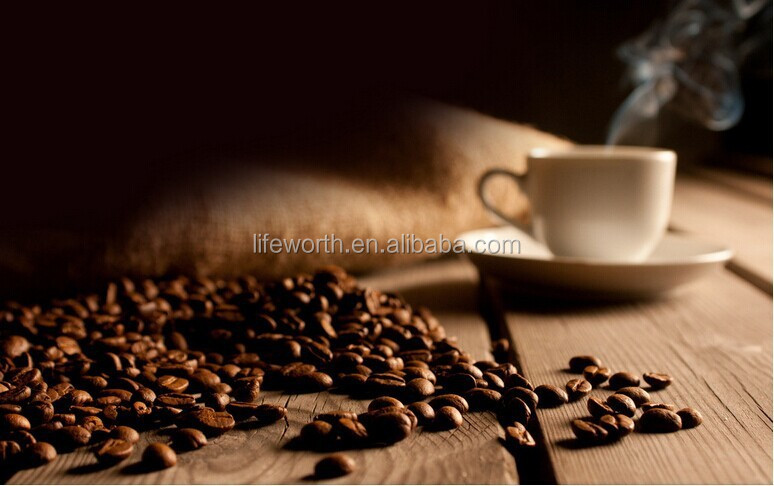 Flavored coffee, Lattee/mocha/cappuccino arabica coffee with lingzhi extract